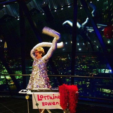 Lorraine up the Shard, Private party 2015