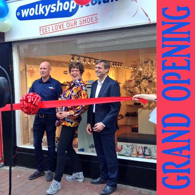 Wolkyshop Grand Opening