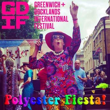 Lorraine Bowen's Polyester Fiesta! @ Greenwich Docklands Festival