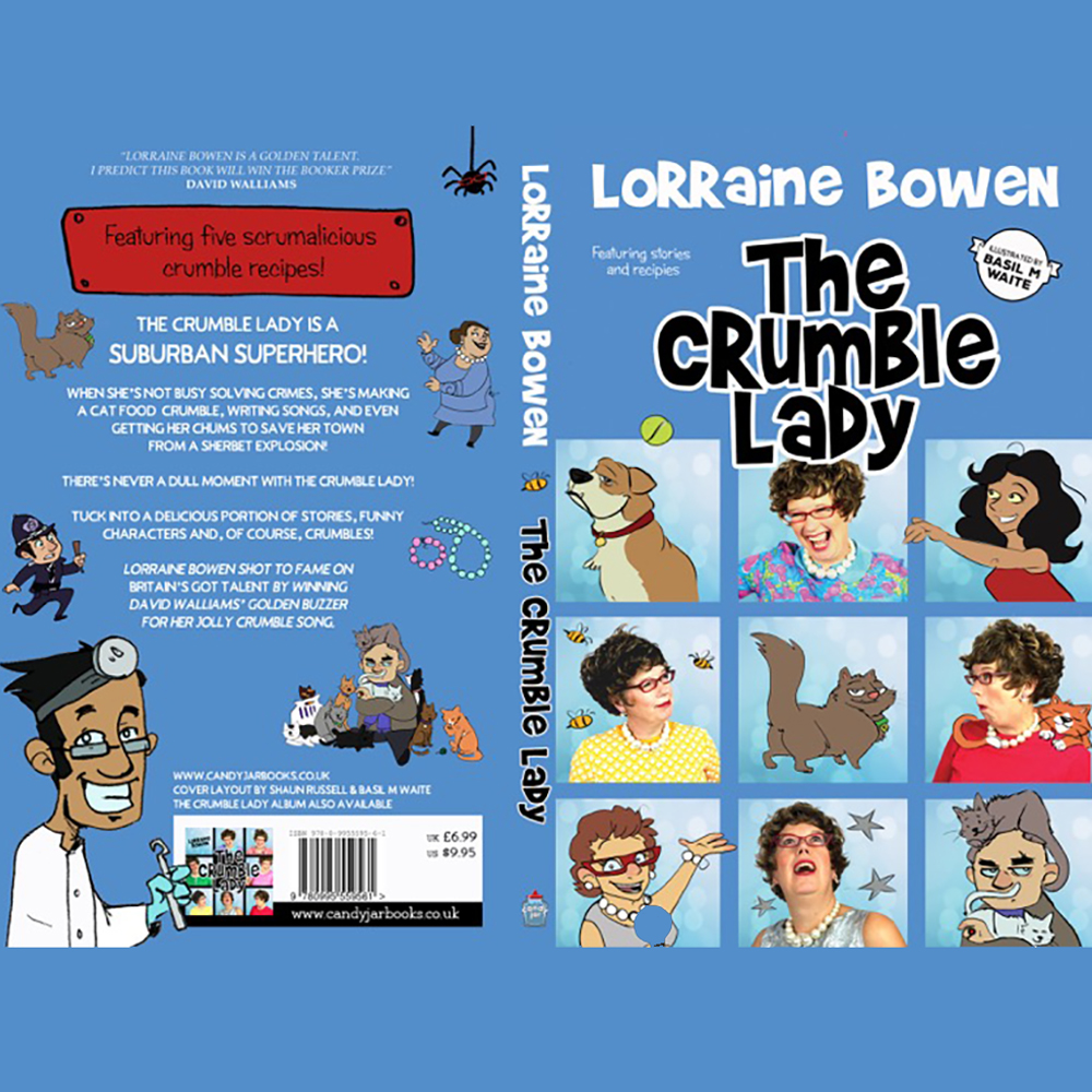 The Crumble Lady- Book