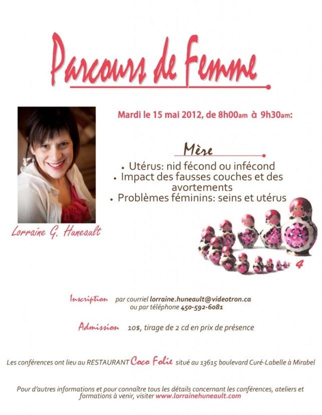 4e conférence dans Parcours de Femme