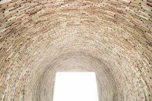 Kren's vast stacked book tower in Bologna, via inhabitat