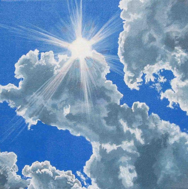 "painting ""sunburst"""