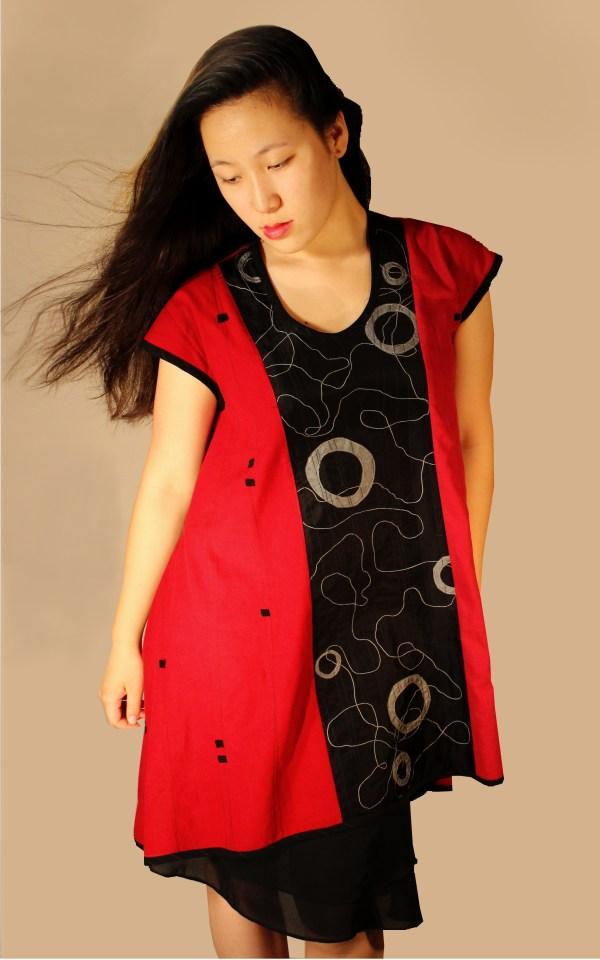Lorraine Wearable Art Clothing With Splash