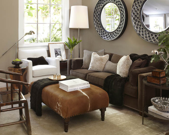 living rooms with dark brown furniture awesome too much a national epidemic lorri dyner design sofa decorating ideas