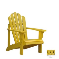 Adirondack Chairs At Lowes Peg Perego High Chair Rocker Yes You Can Find A Cheaper Lorri Dyner Design Yellow
