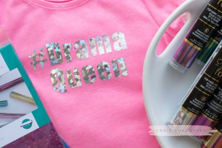 Foil a T-shirt with your Cricut Maker, Cricut Easy Press and