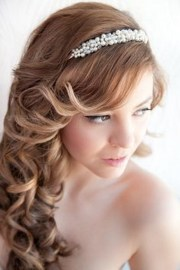 prom hairstyles with headband