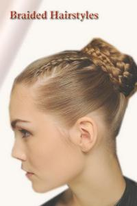 Braiding hairstyles for short hair