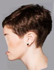 side and view of pixie haircuts