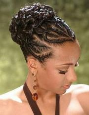 updo braid hairstyles black