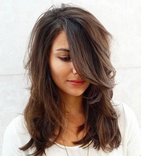 Shoulder length layered haircuts 2018