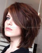 shoulder length layered haircuts