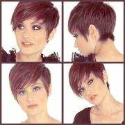 pixie haircut front and