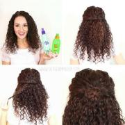 fast and easy hairstyles curly
