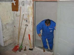 Der Keller wird 'tiefergelegt'