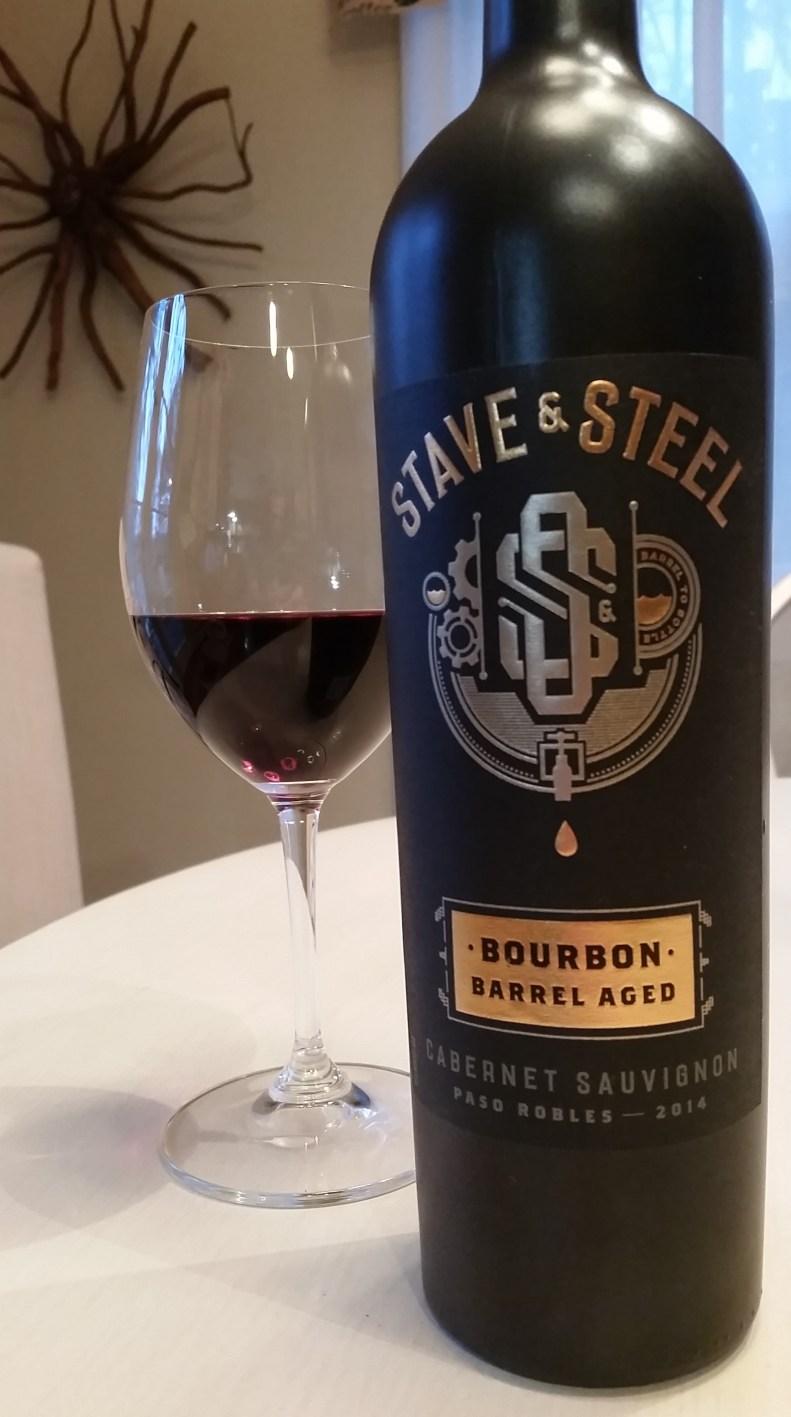 Stave & Steel 2014 Bourbon Barrel-aged Cabernet Sauvignon