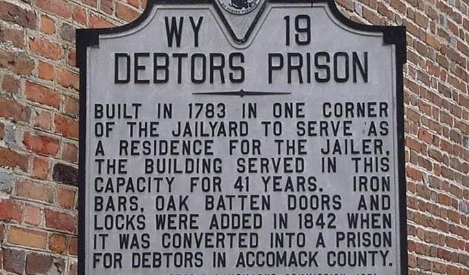 modern debtors prison