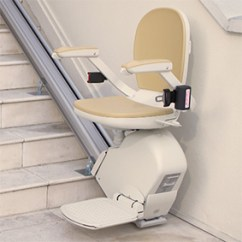 Seat Lifts For Chairs Walgreens Transport Chair Parts Pride Liftchairs Riverside Ca Stair Lift Stairlifts Acorn 130 Outside Exterior Inland Empire Victorville