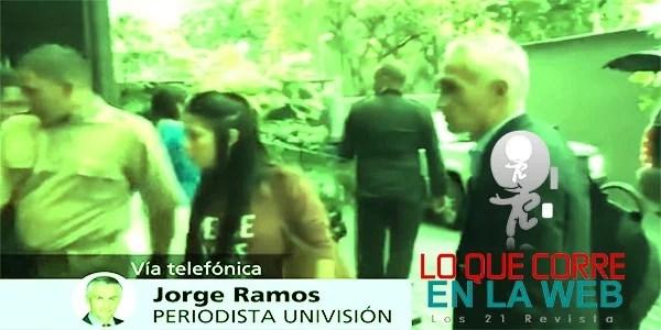 ASÍ FUE EL SECUESTRO DE JORGE RAMOS EN VENEZUELA