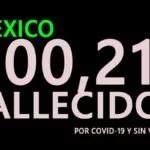 TERRORIFICO¡¡¡ MEXICO SIN VACUNAS Y CON 200,211 FALLECIDOS POR COVID-19