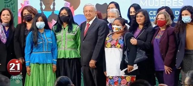 EL UNICO FEMINISMO QUE RECONOCE AMLO, ES AQUEL QUE SE SOMETA ANTE EL