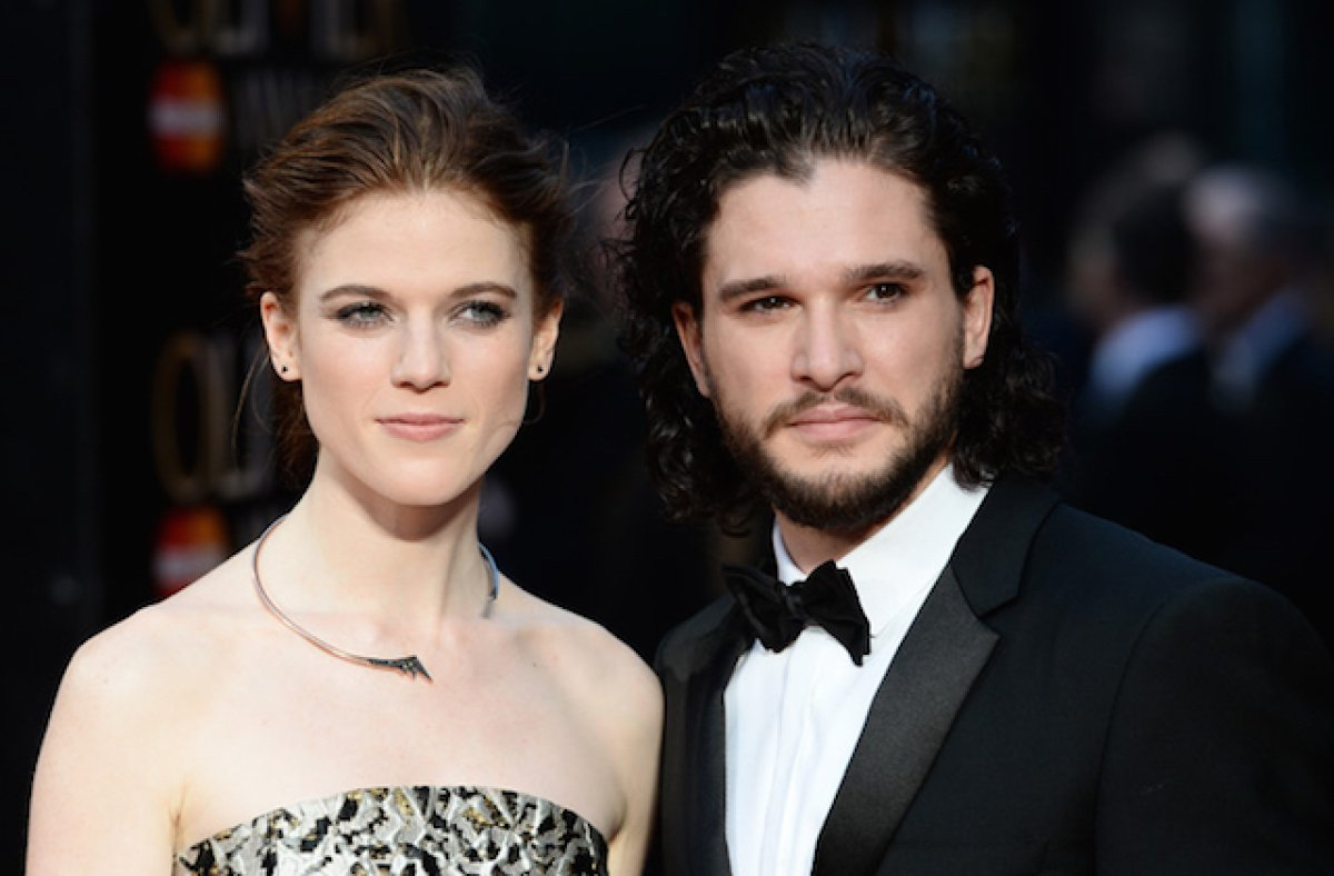 Kit Harington y Leslie