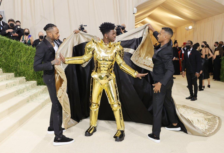 Lil Nas X, en la gala MET 2021