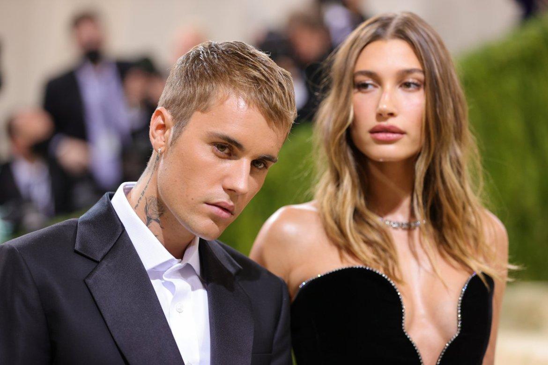 Justin Bieber y Hailey Baldwin, en la gala MET 2021