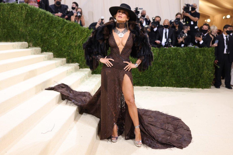 Jennifer Lopez, en la gala MET 2021