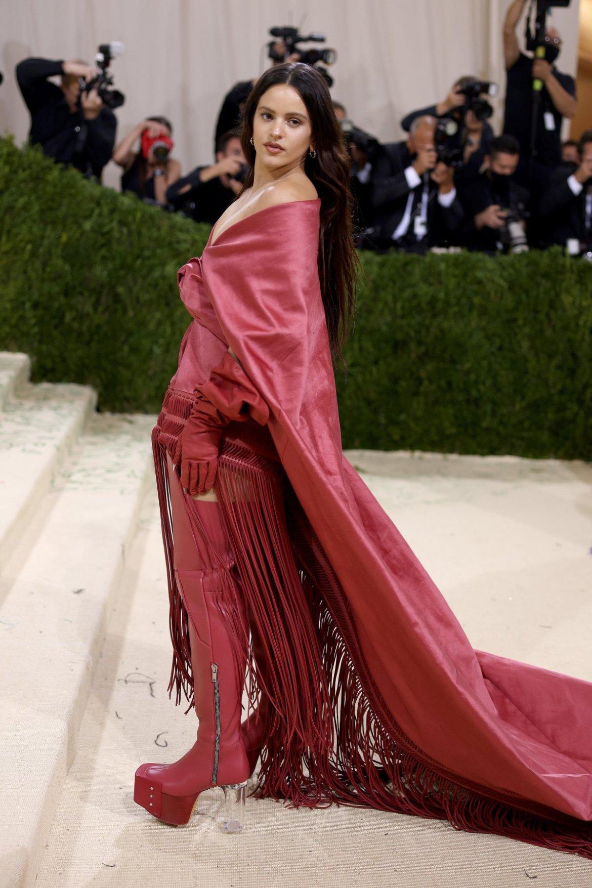 Rosalía, en la gala MET 2021