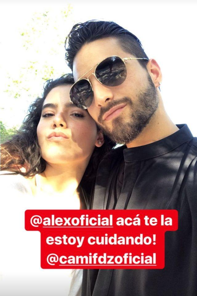 Maluma y Camila Fernández pasan una linda tarde de amigos