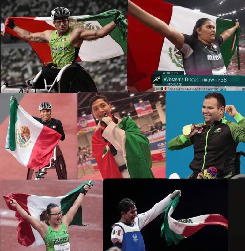 Historica participacion de Mexico en Juegos Paraolimpicos: los Reflectores siguen sin mirarlos