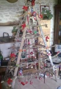 arbol navidad albañil escalera 2