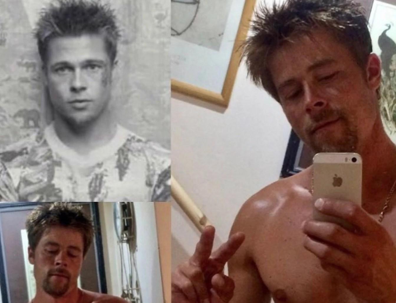 El albañil Brad Pitt