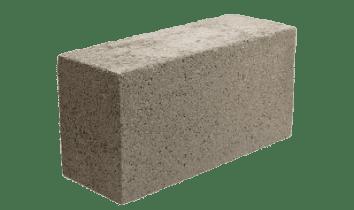 4. Bloque liso macizo de concreto