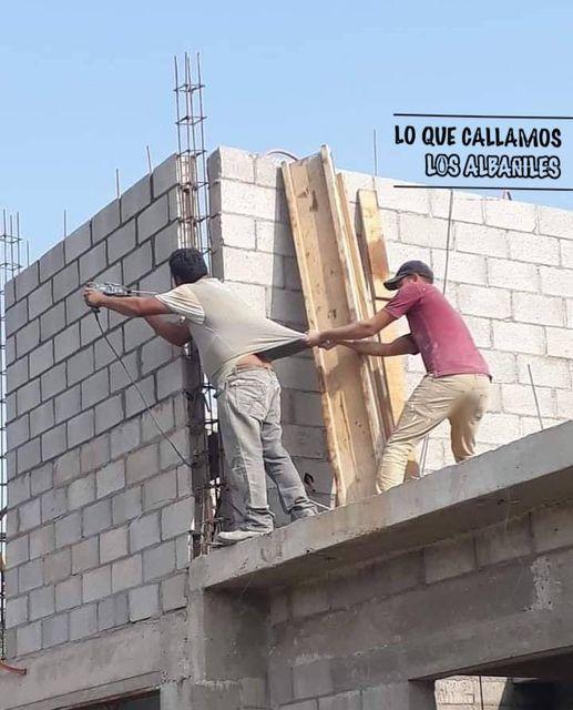 Trabajos en Azotea