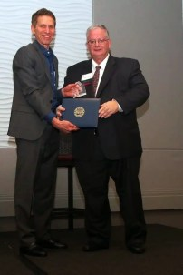 Joe Eyre and Dennis Young (LACF honoree)
