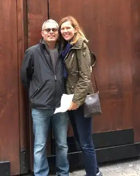 First-time LACF donors Pat & JJ Kapp are pictured here in Paris, one stop on a riverboat cruise through the French wine country they took last spring.