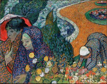VAN GOGH: Recordo del jardín en Etten (Mujeres de Arles)