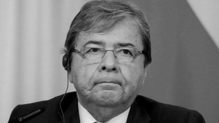 El covid19 se llevó al ministro de Defensa de Colombia