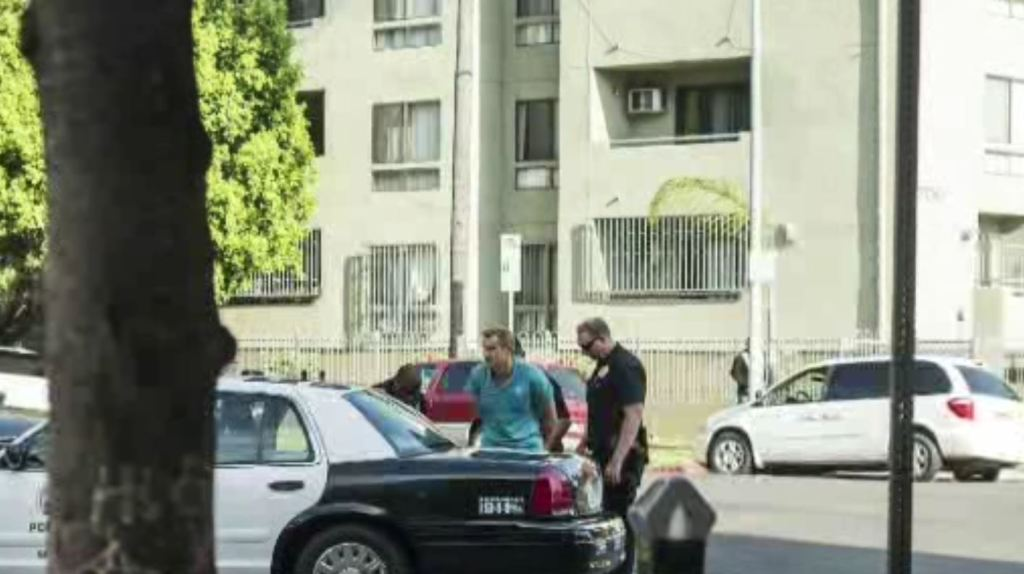 Man Shot To Death Woman Stabbed In Koreatown Parking