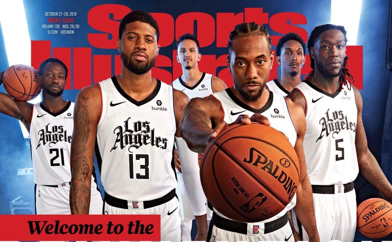 La Clippers Unveil New City Edition Uniforms On Sports