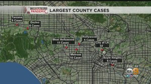 Coronavirus: LA County Sees Increase Of Nearly 100 Cases In 48 ...