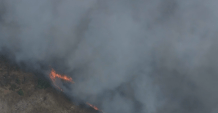 Evacuations Ordered as Fire Burns in Bolsa Chica Wetlands of Huntington Beach