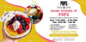POP'S Ice Cream Grand Opening! FREE Ice Cream! BOGO Ice Cream! Free Giveaway @ Pops Ice Cream | Santa Clarita | California | United States