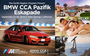 BMWCCA Pazifik Eslapade 2018