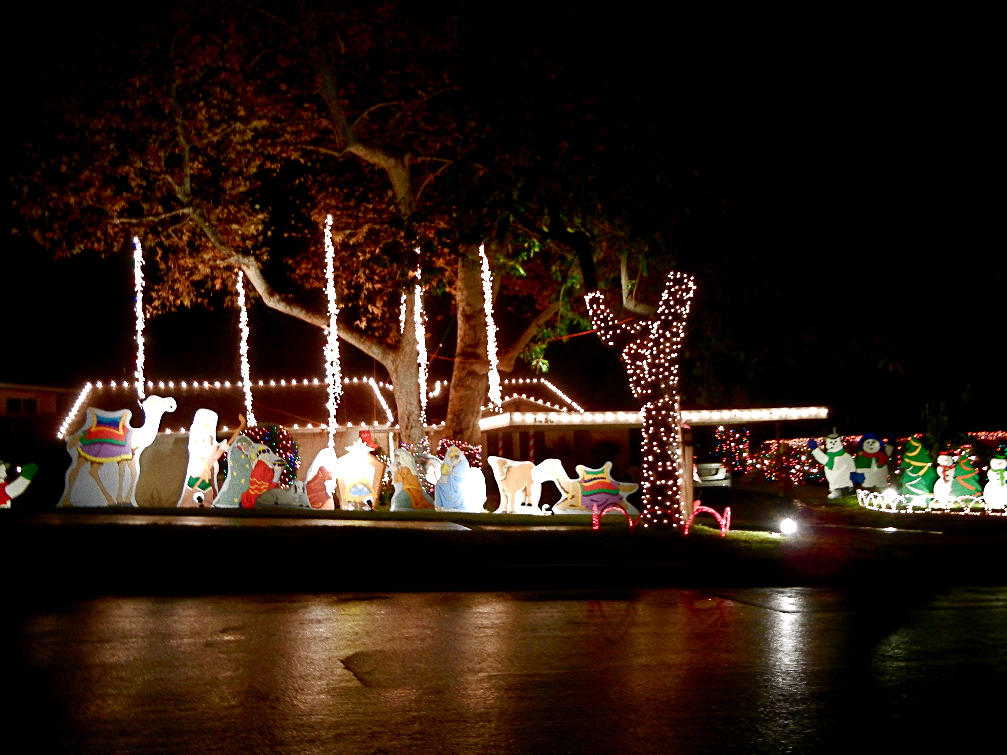 Upper Hastings Ranch Holiday Light Up  Los Angeles Love Affair