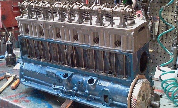 1953 Chevy GM 235 engine