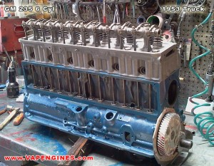 gm 235 engine rebuild at vapengines.com